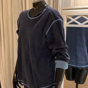 Armani exchange blue Denim look men shirt